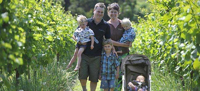 Wrights Vineyard family