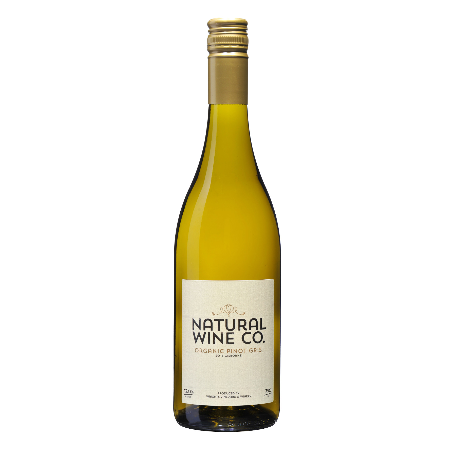 Natural Wine Co Pinot Gris 2016 Wrights Vineyard And Winery