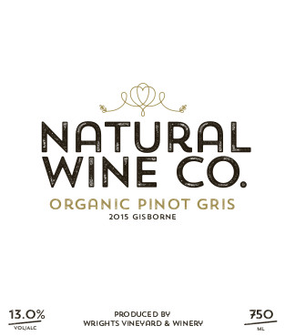 Organic Pinot Gris 2015