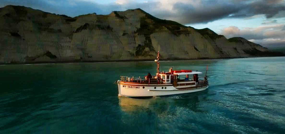 MV Takitimu Boat Ride Gisborne