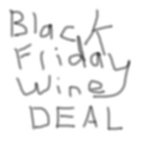 Black Friday Wine Deal